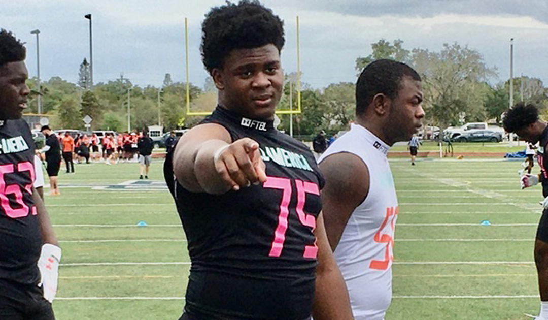 Deerfield's Standout Defensive Lineman Richard Thomas Is Truly At Another Level