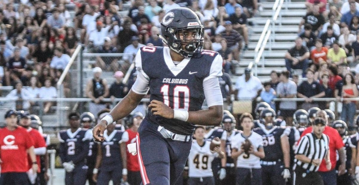 It's Jabari Ishmael's Year To Help Lead Defending 8A State Champion Christopher Columbus