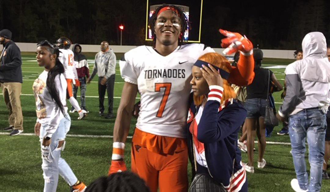 Receiver Jacorey Brooks Has Been Legendary For Booker T. Washington